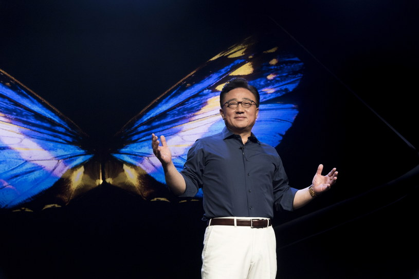 J Koh, President and CEO of IT & Mobile Communications Division, Samsung Electronics. /materiały prasowe