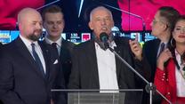 J. Korwin-Mikke: Ostatnio mieliśmy 6,1 proc. i wyszło 4,5 w związku z tym ja bym się w tej chwili nie cieszył