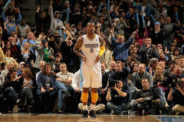 J.R. Smith rzucił 28 punktów w meczu z Miami Heat /AFP