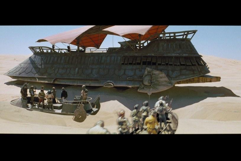 Jabba the Hutt w drodze do Jamy Scarlacca /materiały prasowe