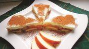 Jabłka pod pierzynką z cynamonem