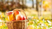 Jabłka z miętą i cynamonem