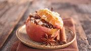 Jabłko pieczone z bakaliami