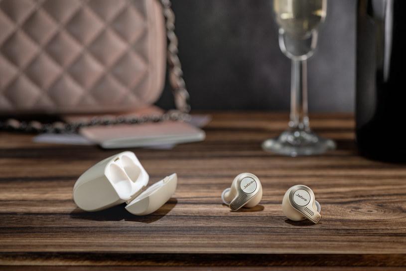 Jabra Elite 65t Beige Champagne /materiały prasowe