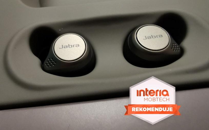Jabra Elite 75t otrzymuje REKOMENDACJĘ serwisu Mobtech Interia /INTERIA.PL
