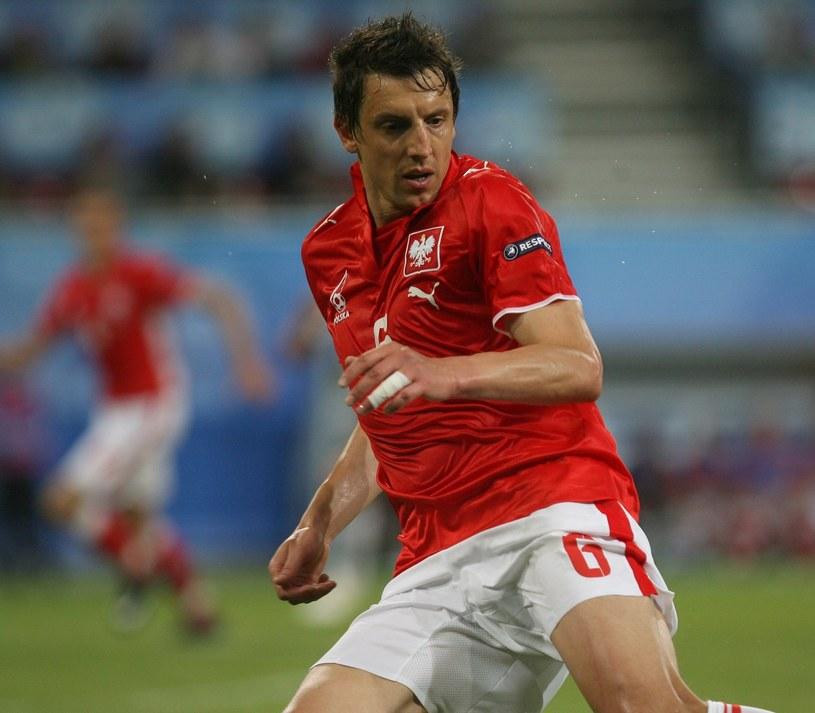 Jacek Bąk na Euro 2008. /Piotr Bławicki /East News