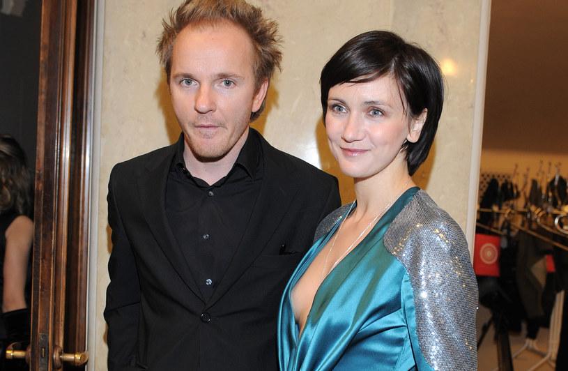 Jacek Borcuch i Ilona Ostrowska /Andras Szilagyi /MWMedia