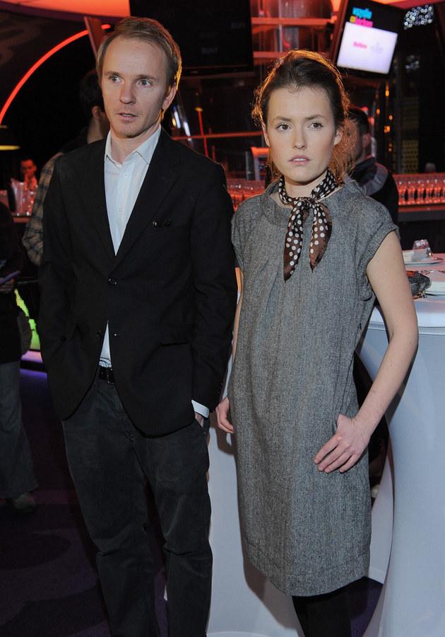 Jacek Borcuch i Olga Frycz - reżyser dla aktorki rozstał się z żoną Iloną Ostrowską /MWMedia