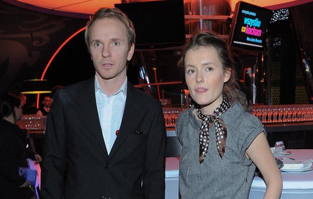 Jacek Borcuch i Olga Frycz /Paweł Przybyszewski /MWMedia