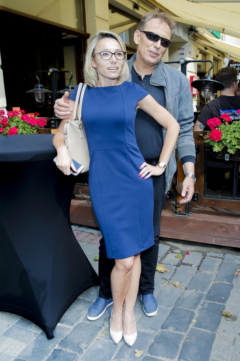 Jacek Borkowski, na zdj. z córką Karoliną /Podlewski /AKPA