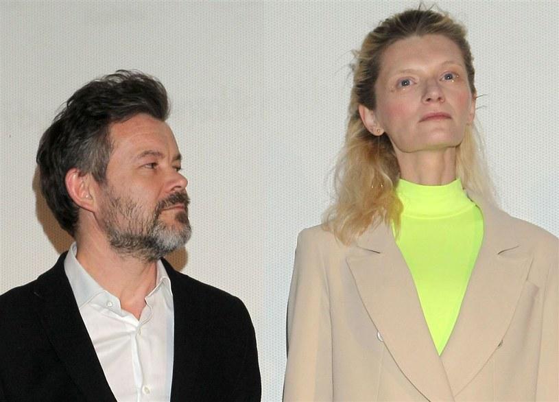 Jacek Braciak i Agata Buzek /Agencja W. Impact