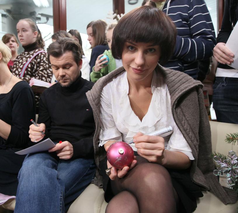 Jacek Braciak i Maja Hirsch /Piotr Blawicki /East News