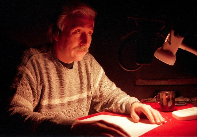 Jacek Brzostyński podczas pracy w 1999 roku /Adam Tuchliński /Reporter