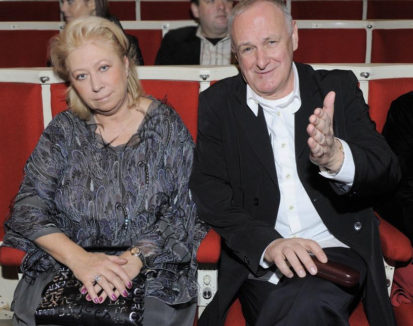 Jacek Cygan z żoną /- /East News
