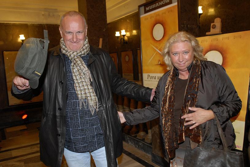 Jacek Cygan z żoną /Mikulski /AKPA