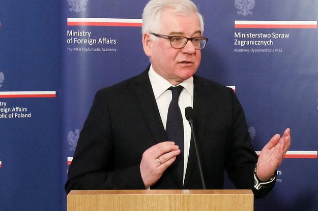 Jacek Czaputowicz nowym szefem MSZ. Zastąpił Witolda Waszczykowskiego