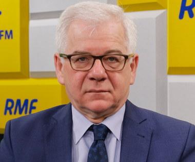 Jacek Czaputowicz wyszedł ze studia Popołudniowej rozmowy w RMF FM
