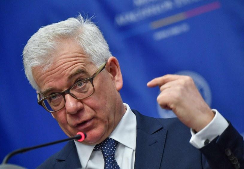 Jacek Czaputowicz /AFP PHOTO / Daniel MIHAILESCU /East News
