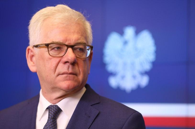 Jacek Czaputowicz /fot. Andrzej Iwanczuk /Reporter