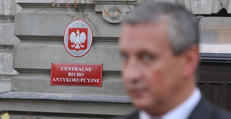 Jacek Dobrzyński, rzecznik CBA. /Witold Rozbicki /Reporter