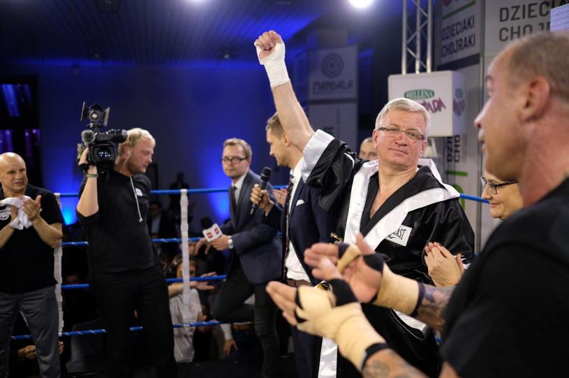 Jacek Jaśkowiak jest zapalonym bokserem /ADRIAN WYKROTA/POLSKA PRESS  /East News