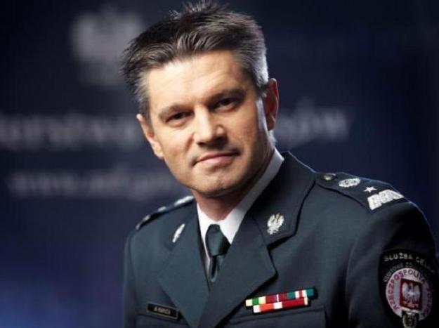 Jacek Kapica, szef Służby Celnej /