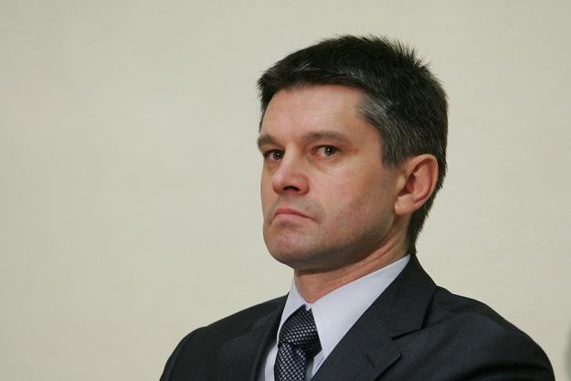 Jacek Kapica, wiceminister finansów. Fot.  PIOTR KOWALCZYK /Agencja SE/East News