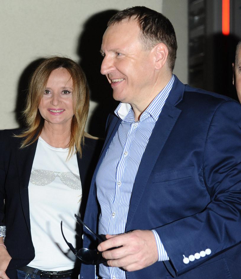 Jacek Kurski i Joanna Klimek /Piotr Andrzejczak /MWMedia