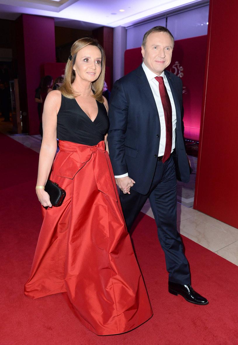 Jacek Kurski i Joanna Klimek /Tricolors /East News