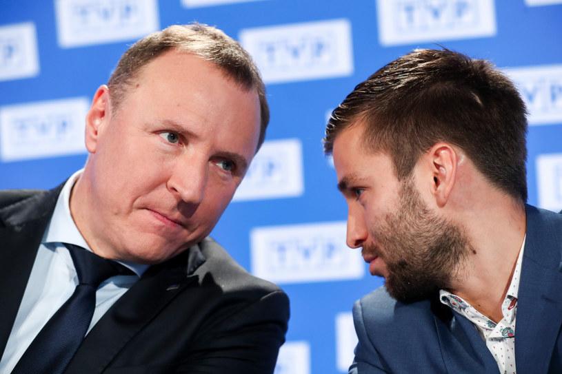 Jacek Kurski i Marek Szkolnikowski /Andrzej Iwańczuk /East News