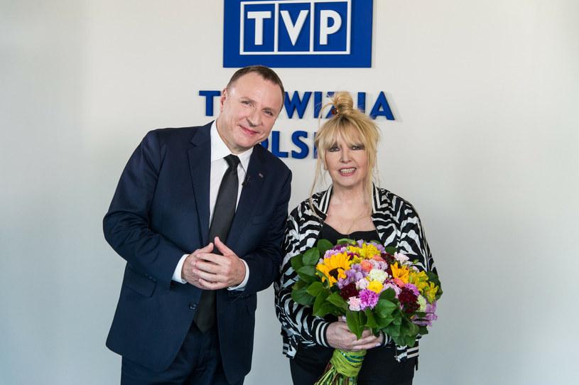Jacek Kurski i Maryla Rodowicz /Jan Bogacz /East News