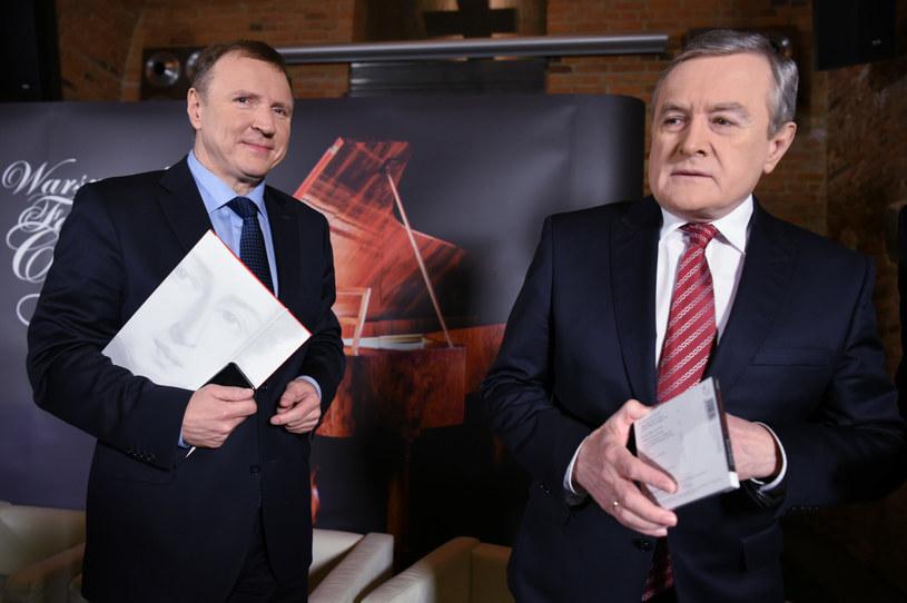 Jacek Kurski i Piotr Gliński /Justyna Rojek /East News