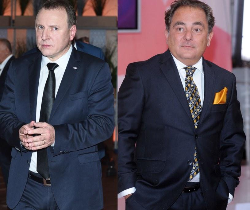 Jacek Kurski i Robert Makłowicz /- /MWMedia