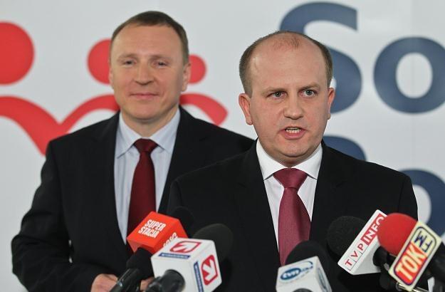 Jacek Kurski i Tomasz Górski / fot. R. Guz /PAP