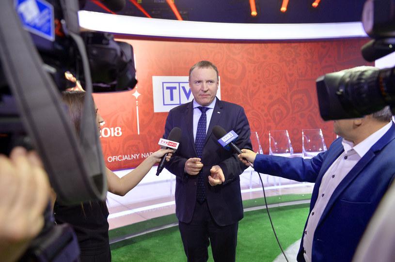 Jacek Kurski jest prezesem TVP od 2016 roku /AKPA