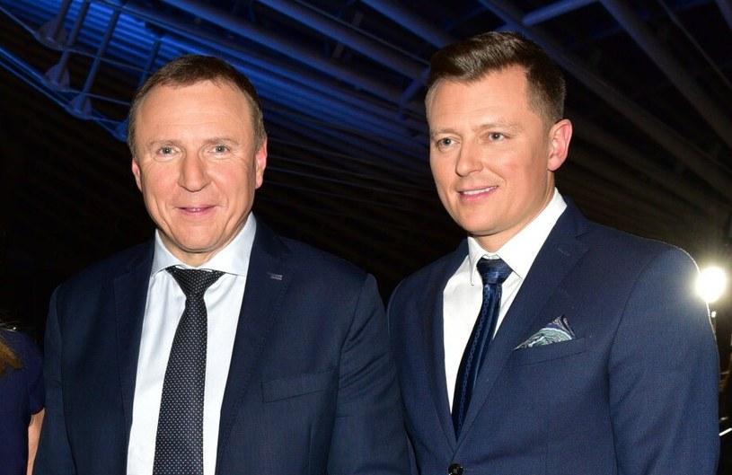 Jacek Kurski jest zadowolony z występu Rafała Brzozowskiego? /Piotr Fotek /Reporter