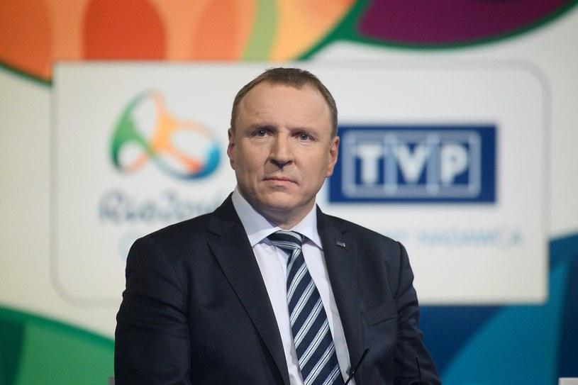 Jacek Kurski ma nową-starą konkurentkę w walce o fotel prezesa TVP /Mateusz Jagielski /East News