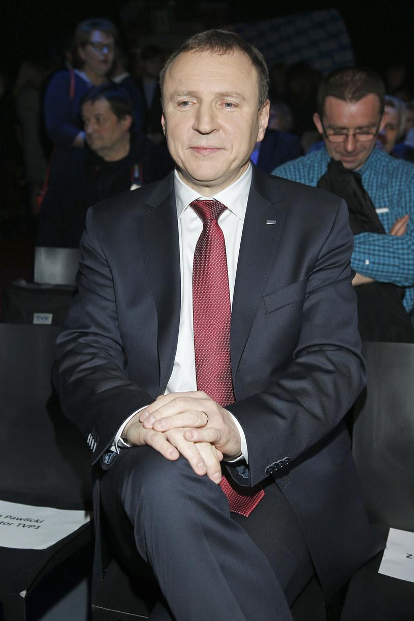 Jacek Kurski powoli wdraża w życie swój plan /Jordan Krzemiński /AKPA