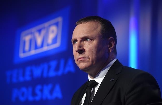 Jacek Kurski, prezes TVP. Fot. Adam Chełstowski /FORUM