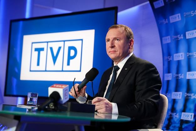 Jacek Kurski, prezes TVP. Fot. Andrzej Iwańczuk /Reporter