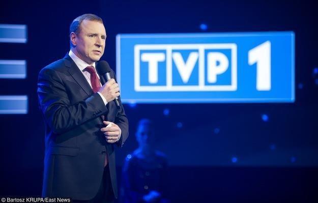 Jacek Kurski, prezes TVP. Fot. Bartosz Krupa /East News