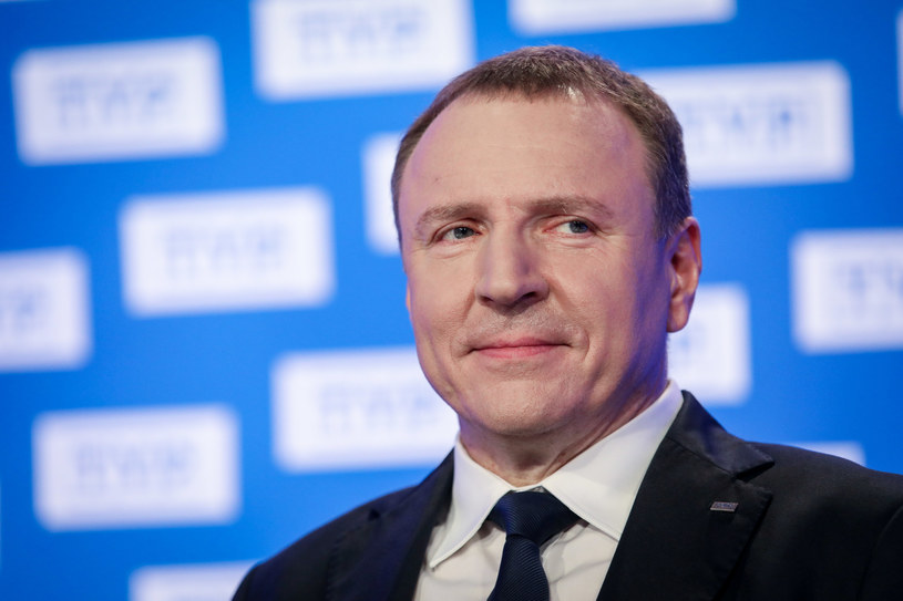 Jacek Kurski, prezes TVP /Andrzej Iwańczuk /Reporter