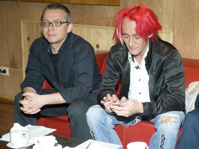 Jacek Łągwa i Michał Wiśniewski /Jarosław Antoniak /MWMedia