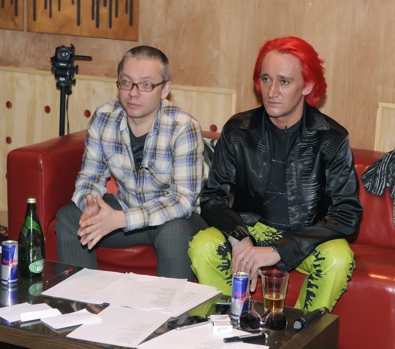 Jacek Łągwa i Michał Wiśniewski /- /East News