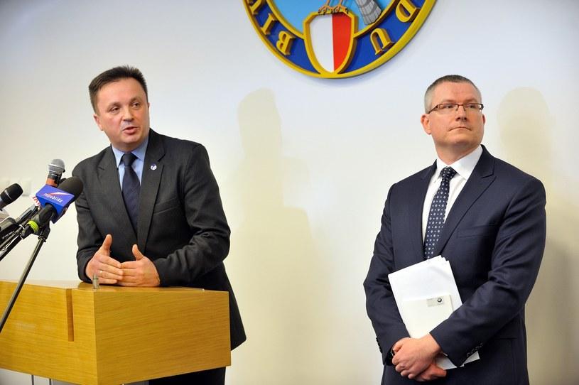 Jacek Lipski z prawej /Witold Rozbicki /Reporter
