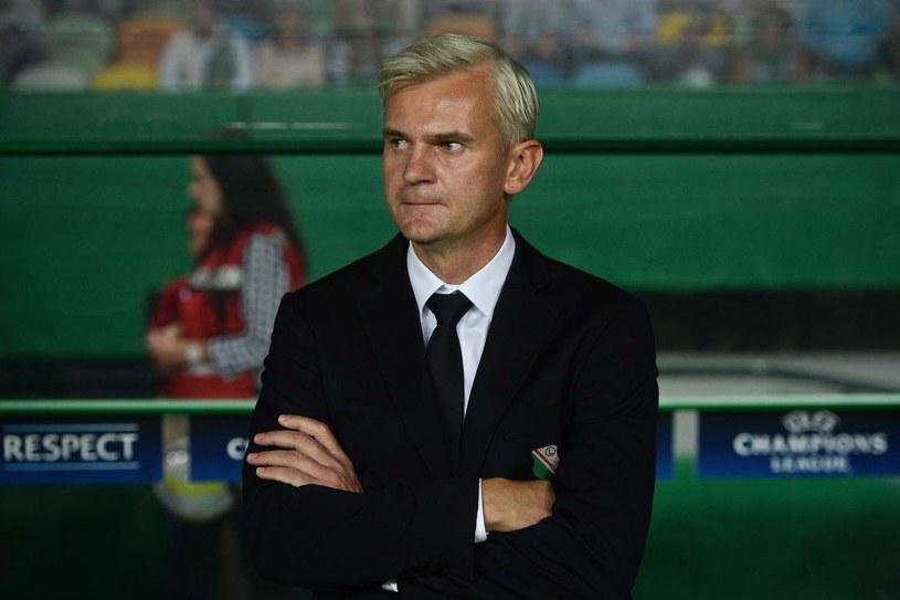 Jacek Magiera nie dostał kredytu zaufania w Legii Warszawa, a to trener z wielkim potencjałem. /AFP