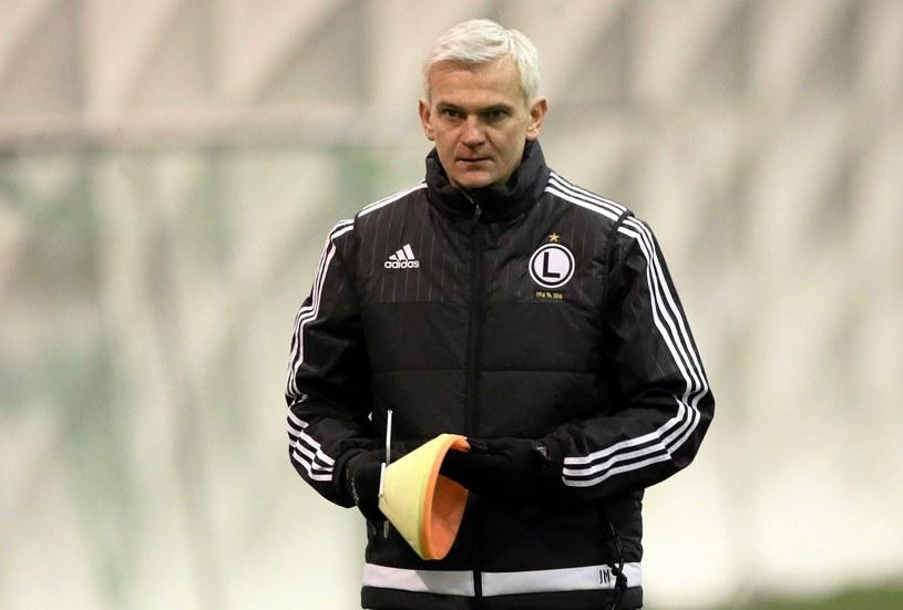Jacek Magiera, trener Legii Warszawa /Kuba Atys /