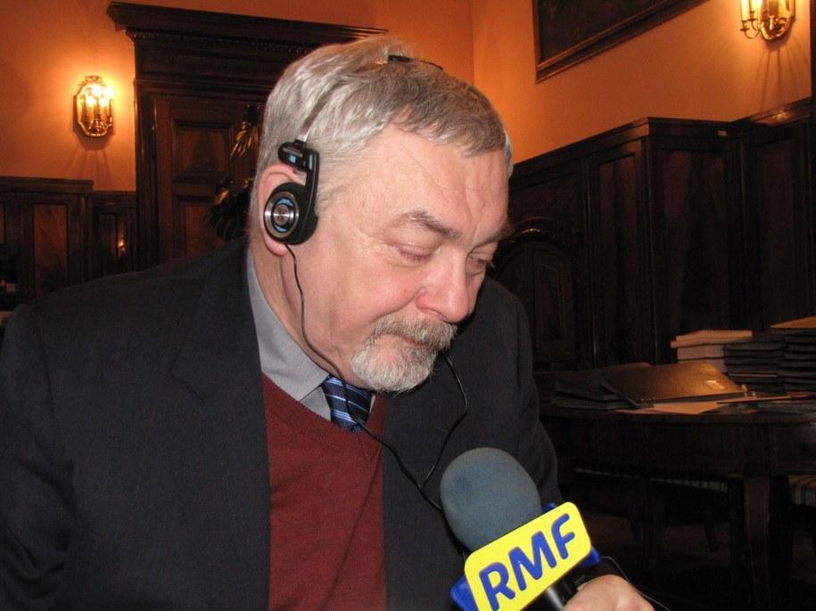 Jacek Majchrowski  /Maciej Grzyb /RMF FM
