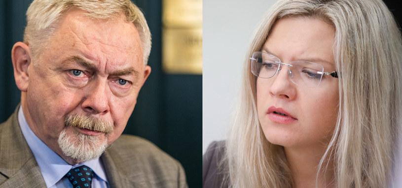 Jacek Majchrowski i Małgorzata Wassermann /Andrzej Iwanczuk/Jan Graczynski  /Reporter