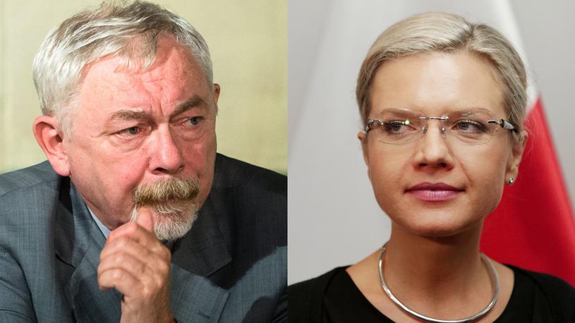 Jacek Majchrowski, Małgorzata Wassermann / Filip Radwański / Jarosław Praszkiewicz / FORUM Agency